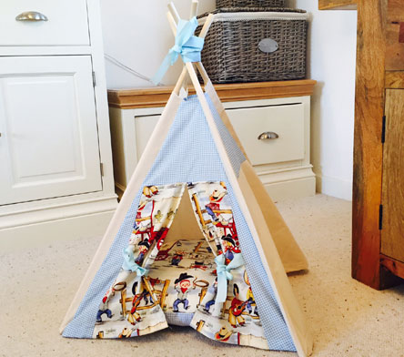 tiny teepee bundle by samuel and rigby