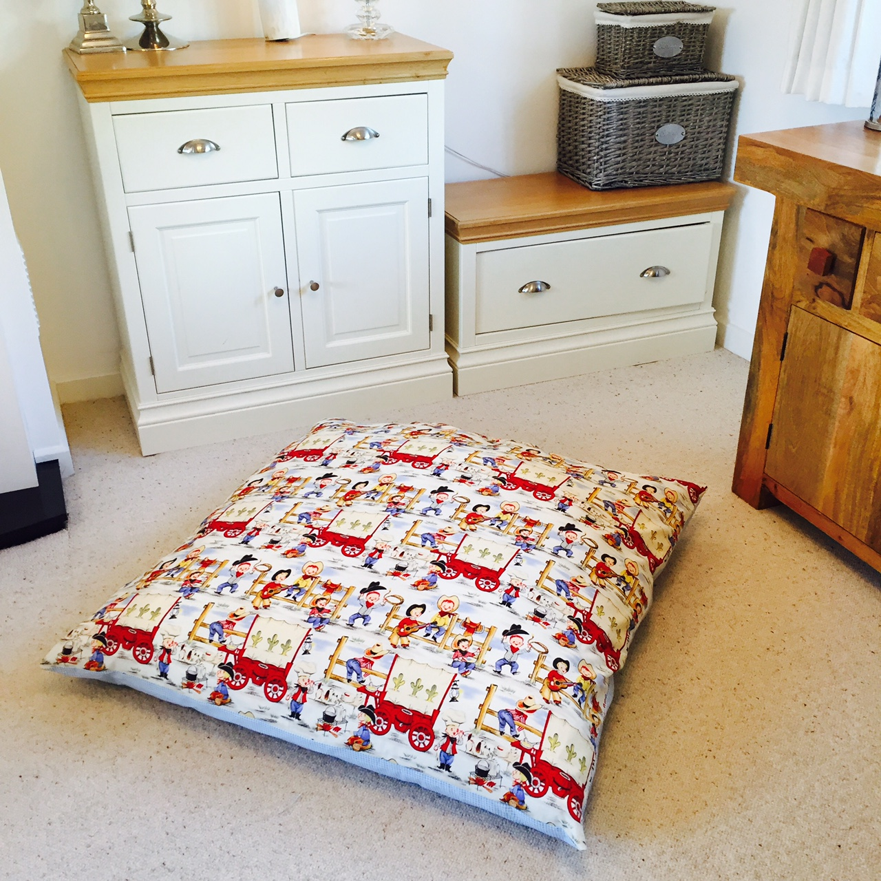 Childrens Floor Cushions - Huge Squishy Cushions By Samuel And Rigby