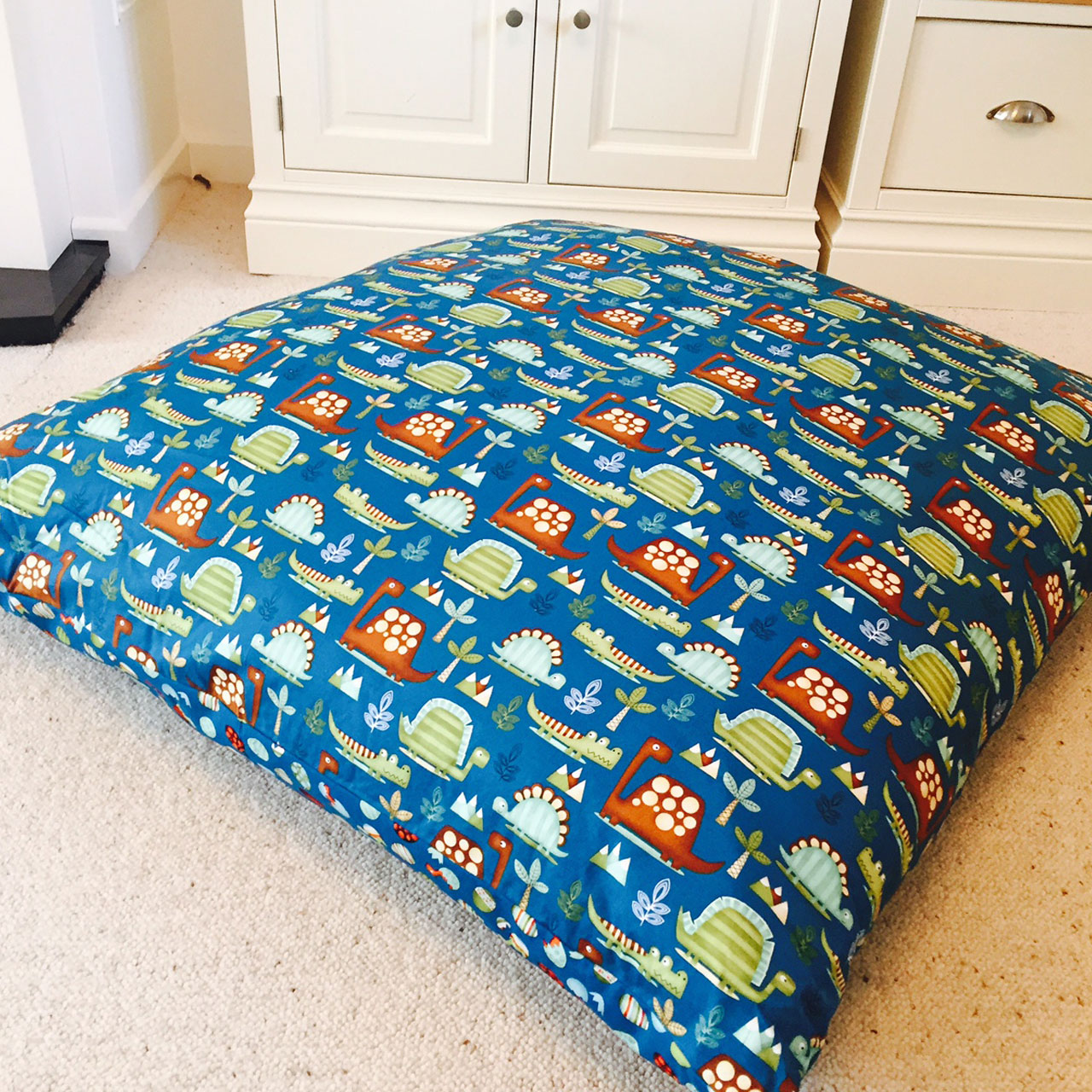Oversized Floor Pillows Cushions : Boys Oversized Floor Cushion - Huge Squishy Cushions - Samuel And Rigby