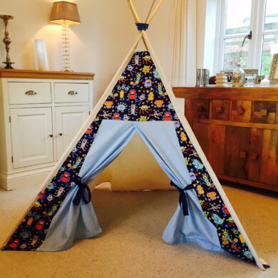 bespoke childrens teepees by Samuel & Rigby