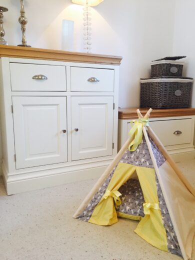 cat pet teepee by samuel and rigby