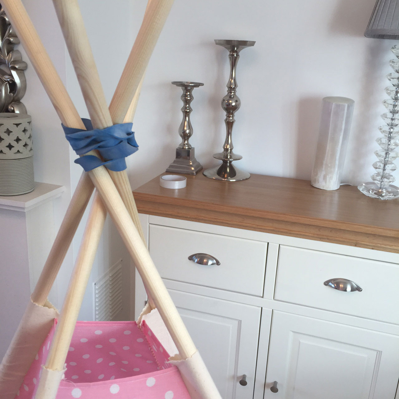 step 4 - assembling your teepee - Samuel & Rigby