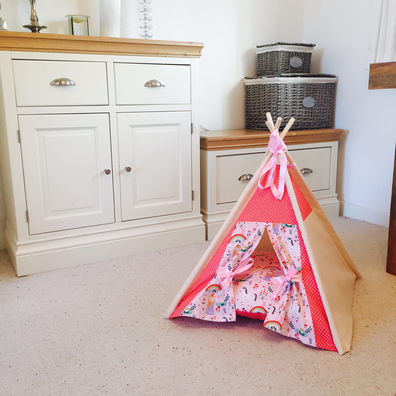 how to make a teepee small