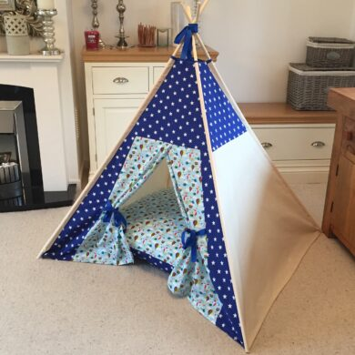 boys hideaway tent by Samuel And Rigby