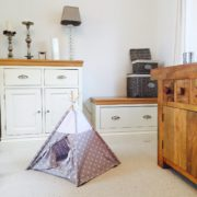 cat teepee tent by Samuel And Rigby