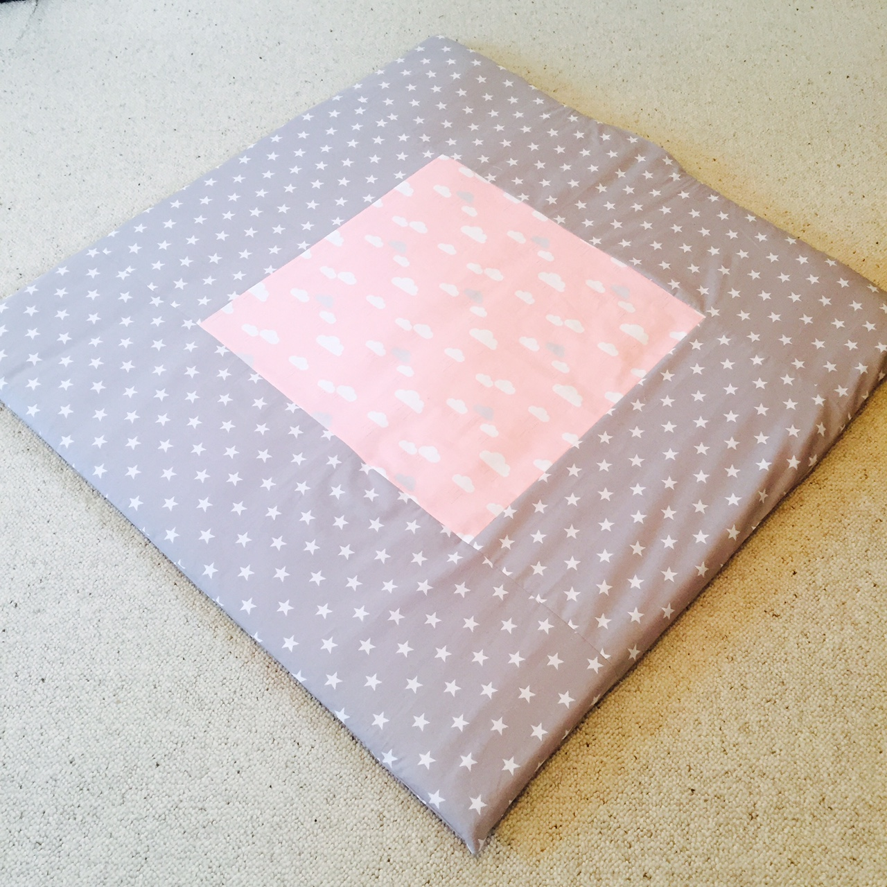 Grey Star Baby Play Mat Pink Play Mats Best Shower