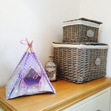 small pet beds by Samuel & Rigby