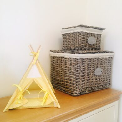 small pet teepee by Samuel & Rigby